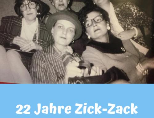 22 Jahre – Zick-Zack